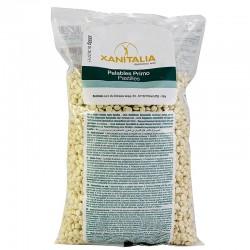 Воск пленочный Xanitalia Белая Ваниль в гранулах (1 кг)
