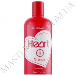 Жидкость для снятия гель-лака и очистки кистей Heart Gel Remover Orange 500 ml