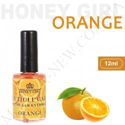 Витаминизированное масло для кутикулы Honey Girl Апельсин (12 мл)