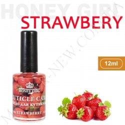 Витаминизированное масло для кутикулы Honey Girl Клубника (12 мл)