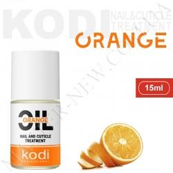 Масло для ногтей, сухой и поврежденной кутикулы KODI Апельсин (15 мл)