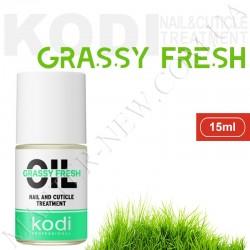 Масло для ногтей, сухой и поврежденной кутикулы KODI Grassy Fresh (15 мл)