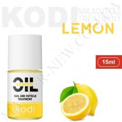 Масло для ногтей, сухой и поврежденной кутикулы KODI Лимон (15 мл)