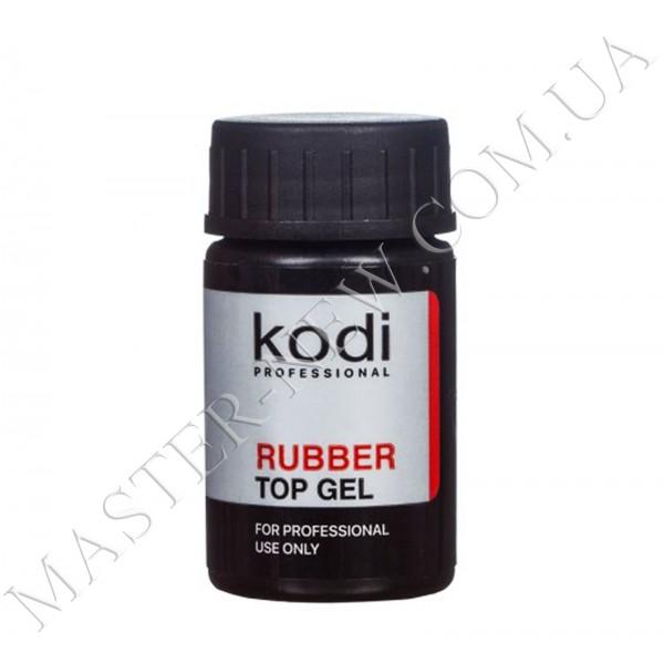Rubber Top Каучуковое верхнее покрытие для гель лака Коди 14 мл.