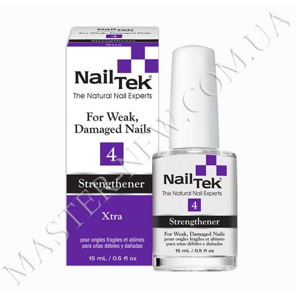 NAIL TEK Strengthener XTRA 4 интенсивное лечение 15 мл.