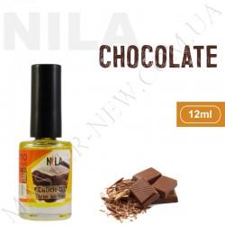 Увлажняющее масло для кутикулы и ногтей Nila Chocolate (12 мл)