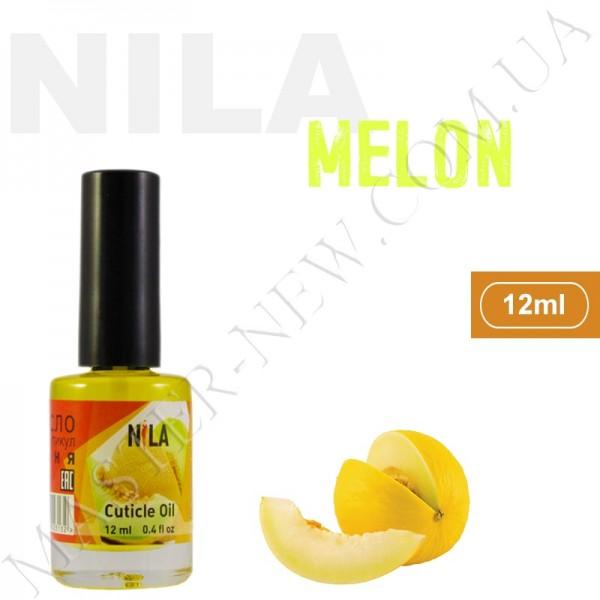 Увлажняющее масло для кутикулы и ногтей Nila Melon (12 мл)