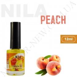 Увлажняющее масло для кутикулы и ногтей Nila Peach (12 мл)