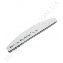 Kodi 100/180 Half Grey Пилка для ногтей полукруг