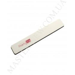 Niegelon 100/100 Мягкая пилочка для ногтей прямая белая