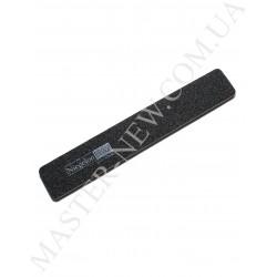 Niegelon 80/80 Мягкая пилочка для ногтей прямая черная