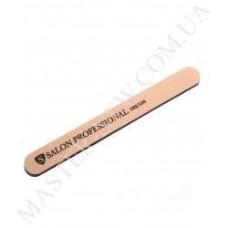 Салон Salon 180/100 Пилка для ногтей прямая розовая