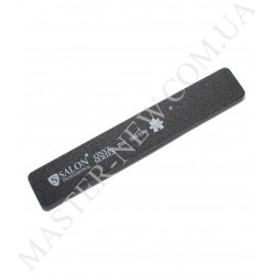 Салон Salon 100/180 Пилка для ногтей прямая широкая черная