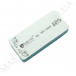 "Полировка для ногтей Салон Salon 400/3000 зеленая ""сендвич"""