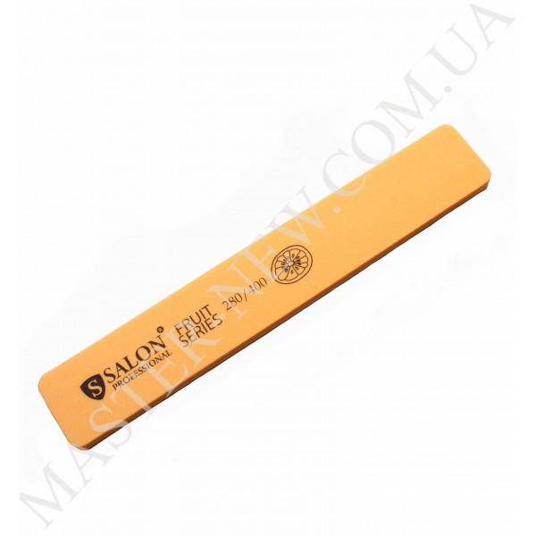 "Шлифовка для ногтей Салон Salon 280/400 ""апельсин"", оранжевая"