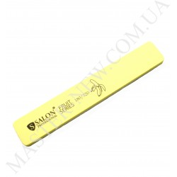 "Шлифовка для ногтей Салон Salon 180/320 ""банан"", желтая"
