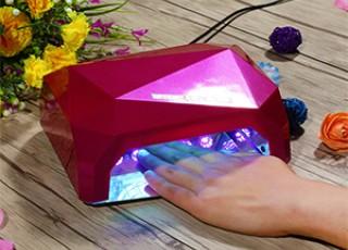 LED+CCFL Гибридные лампы для маникюра Diamond