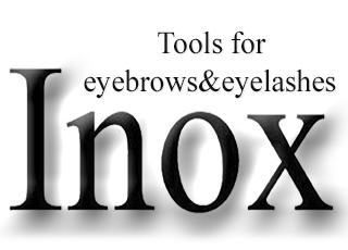 Инструменты для ресниц и бровей Inox