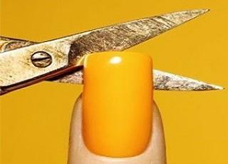 Ножницы маникюрные ногтевые Мастер