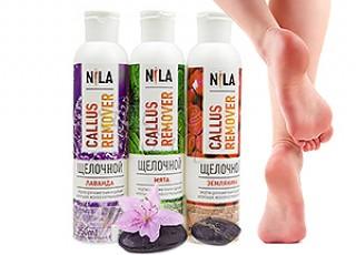 Пилинги для ног Nila