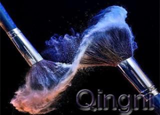 Макияжные кисточки Qingni