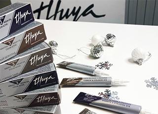 Краска для бровей и ресниц от Thuya