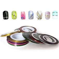 Ленты-скотч для дизайна ногтей YRE Professional