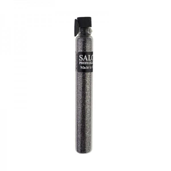 Блестки (песок) Salon Professional, размер 004 032 цвет графит, в пробирке