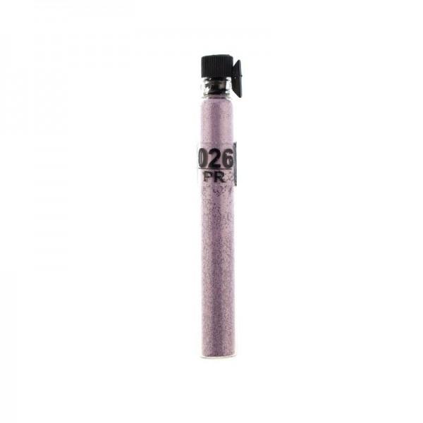 Блестки (песок) Salon Professional, размер pr 026, цвет лиловый, в пробирке