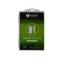 Типсы прозрачные Salon Professional Royal Salon Clear