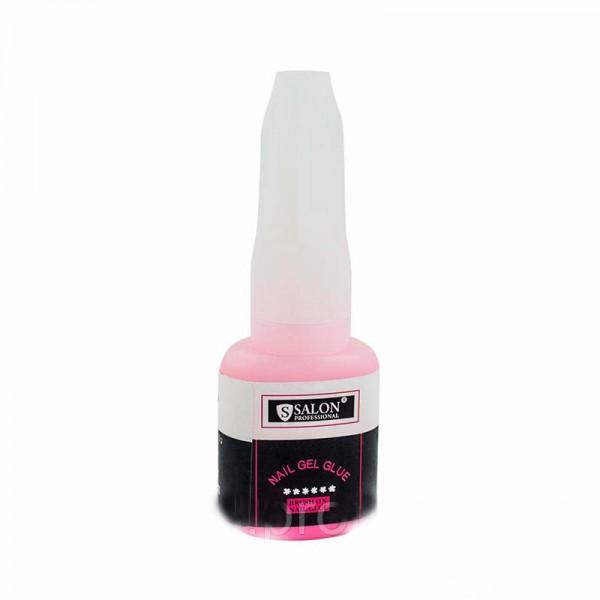Клей для типс Salon Professional 10 г Розовый  00556795