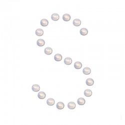 Стразы копия Swarovski ss3 White Opal (100 шт)