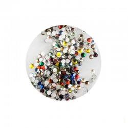 Стразы ss3, цвет ассорти, 1440 шт. 000512